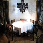 Marie Livingston's Steakhouse dining tables